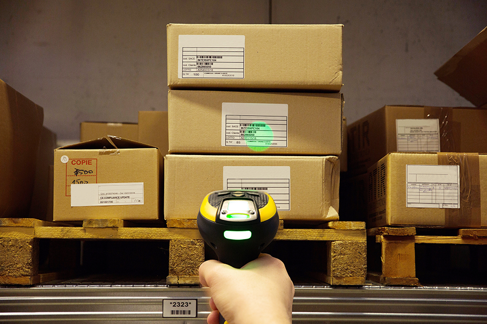 Powerscan AR Warehouse with greenspot
