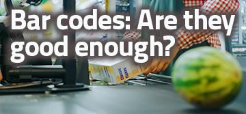Bar codes: are they good enough?