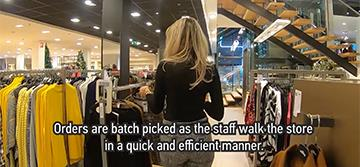 Tailored logistics suits the largest fashion store in the Netherlands